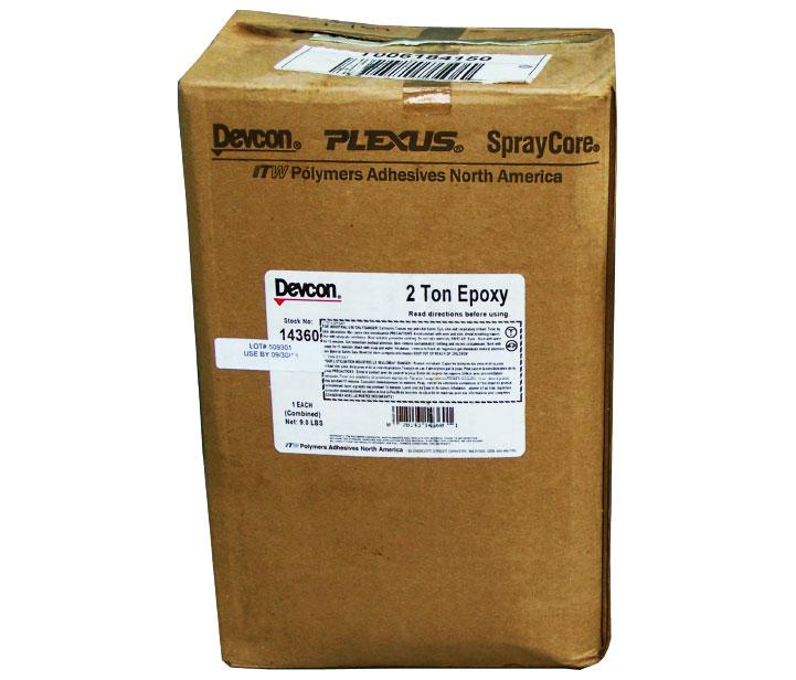 2 TON® 2-PART EPOXY ADHESIVE 14360 , 14310   EIS